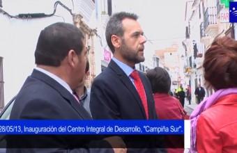 """Inauguración del Centro Integral de Desarrollo """"Campiña Sur"""" en Llerena"""