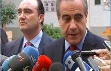El Ministro de Trabajo Celestino Corbacho visita Llerena