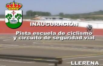 Inauguración Velódromo y Campo de Fútbol con Pista de Atletismo